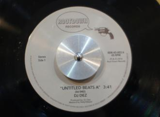 DJ Dez / Untitled Beats#A c/w Untitled Beats#B