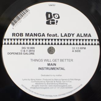 Rob Manga feat. Lady Alma / Things Will Get Better