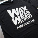 Waxwell Records T-shirts (Black)
