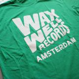 Waxwell Records T-shirts (Green)